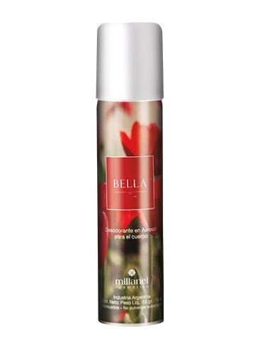 Desodorante Femenino en Aerosol Bella Millanel