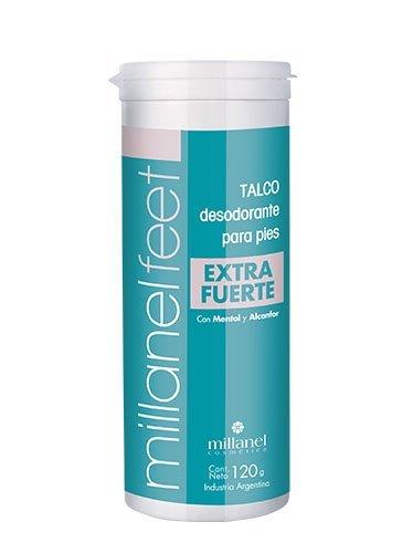 Talco desodorante para pies Extra fuerte Millanel Feet